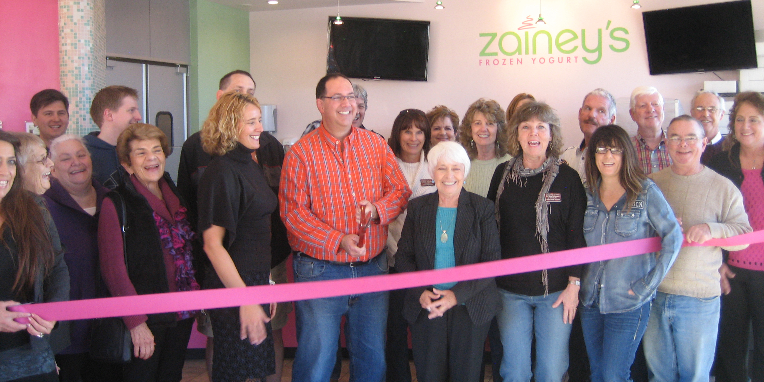 Zainey's ribbon cutting