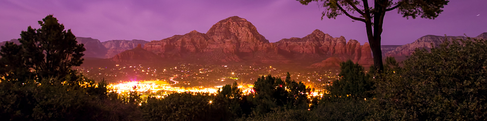 Sedona Night lights