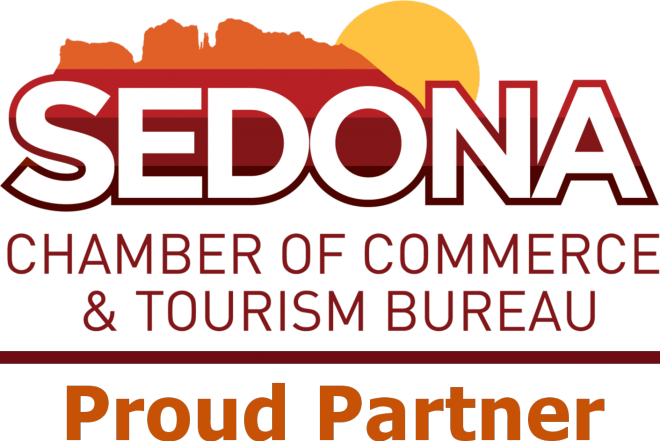 Sedona Chamber of Commerce Proud Partner logo
